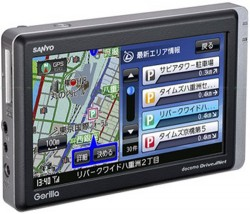 Sanyo and NTT DoCoMo release the Gorilla Plus PND