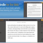 Amazon announces Kindle for the web