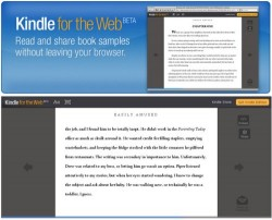 Amazon announces Kindle for the web