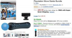 PlayStation Move now on sale at Amazon
