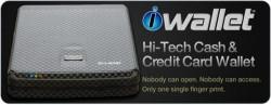 iWallet Biometric wallet keeps your cash safe