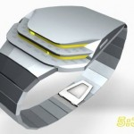 Tokyoflash Cobra LED watch concept
