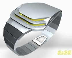 Tokyoflash Cobra LED watch concept