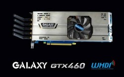 Galaxy GTX 460 Video Card Streams Content to your TV