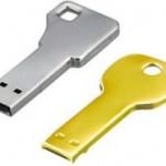 Green House key-shaped USB Flash Drives