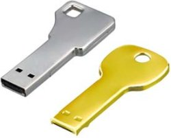 Green House key-shaped USB Flash Drives