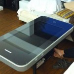 iPhone 4 coffee table
