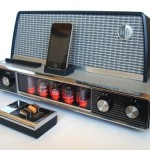 1958 Arvin Radio converted into an iPod Dock
