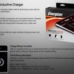 Energizer wireless inductive charger for blackberry and iphone