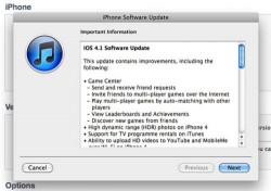 Apple iOS 4.1 now available to download