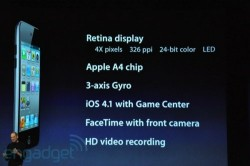 iPod touch gets retina display, FaceTime, HD video recording
