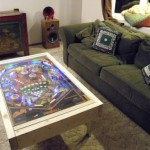 DIY pinball machine coffee table