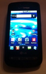 Verizon LG Vortex spotted with Android 2.2 and Microsoft Bing