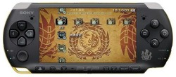 Sony's Monster Hunter PSP with modified analog stick hitting Japan soon