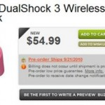 Pink DualShock 3 coming September 21st