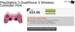 Pink DualShock 3 coming September 21st
