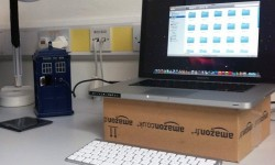 1TB hard drive inside a toy TARDIS makes it bigger on the inside