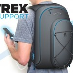 Trek Support Backpack charges your gadgets