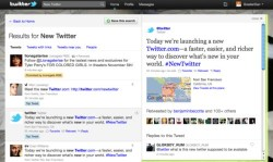 Twitter unveils new website