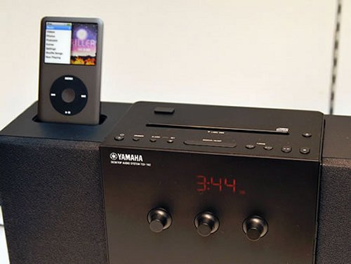 yamaha s new tsx 140 ipod dock does it all. Black Bedroom Furniture Sets. Home Design Ideas