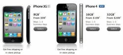 Apple removes white iPhone 4 from website