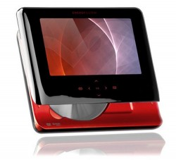 Energy M2700 Shift Ruby Red DVD Player