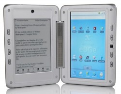 Entourage launches Pocket eDGe dual-touchscreen tablet