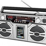 Retro iPod/iPhone Boombox