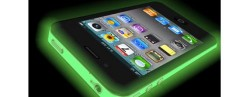 iColor Glow Wrap makes your iPhone 4 glow in the dark