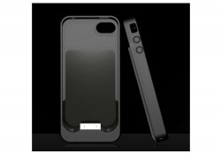 Energizer AP1201 case for iPhone 4 charges and protects