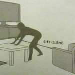 Kinect User Manual reveals mandatory 6 to 8 feet distance