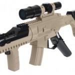 PS Move SMG rifle accessory