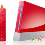 Nintendo Wii goes red for Super Mario's 25th anniversary