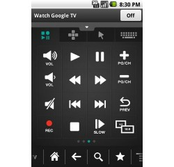 Logitech Revue remote control app out for Android phones