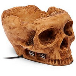 Skullhub USB just in time for Halloween