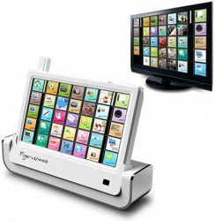 "SoundGraph Wireless USB Monitor is a 10"" HTPC Touchscreen Remote"