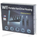 W!! External Hard Drive Casing looks like a Nintendo Wii