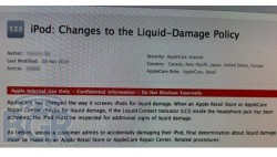 Apple amends iPod Water Damage Policy