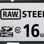 Raw Steel Super Tough SD Card