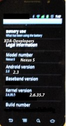 Nexus S spotted running Android 2.3 Gingerbread