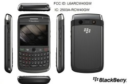BlackBerry 8980 revealed by FCC
