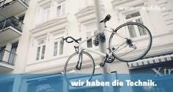 Pole Climbing Bike Lock