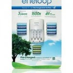 Sanyo offers new AA and AAA eneloop batteries
