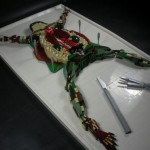 Lego Dissected Frog is the grossest Lego project ever
