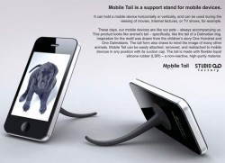 Mobile Tail iPhone stand