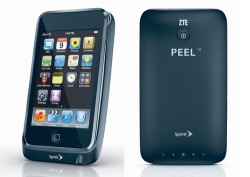 Sprint ZTE Peel turns your iPod Touch into a phone
