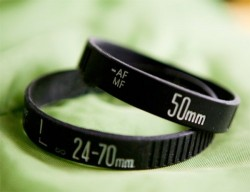 Lens bracelets are the perfect geek gift