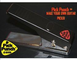 Pick Punch lets you make your own Guitar Picks