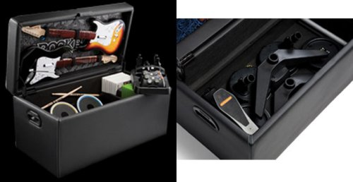 Rock Band Storage Ottoman from Level Up - Rock Band Storage Ottoman From Level Up - SlipperyBrick.com