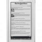 Sony's Reader Daily Edition now on sale with Wi-Fi and 3G